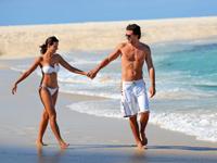 la plaja en las Bahamas