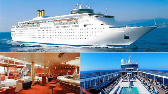 2 day cruise Grand Classica from Cruise Port of Palm Beach