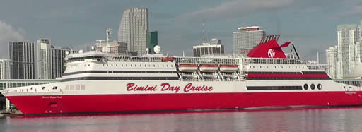 Bimini day cruise from Miami